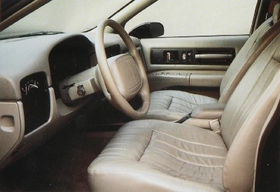 Gray was the only interior color offered on the 1995 Chevrolet Impala SS.