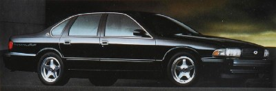 The 1996 Chevrolet Impala SS was perhaps the most novel Chevrolet of the 1990s.
