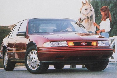 The 1990 Chevrolet Lumina Euro package picked up where the Celebrity Eurosport left off.