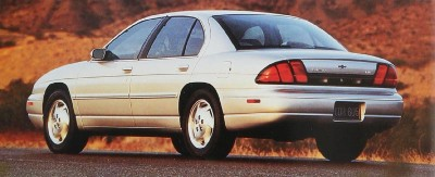 1996 Chevrolet Lumina LS rear