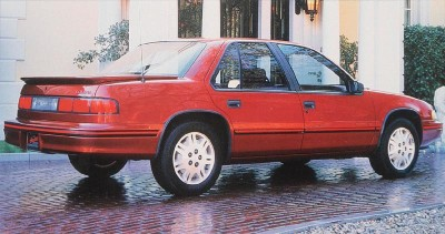 1990 Chevrolet Lumina Euro rear