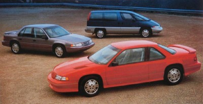 1991 Chevrolet Lumina Z34 coupe, base coupe, minivan