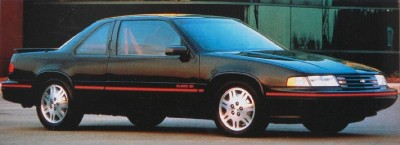 1991 Chevrolet Lumina Euro coupe