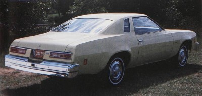 1977 Chevrolet Chevelle Malibu rear view