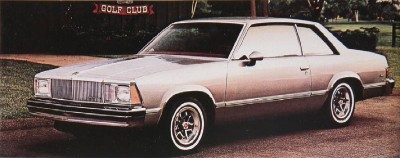 1980 Chevrolet Malibu coupe