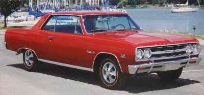 1965 Chevrolet Chevelle front view