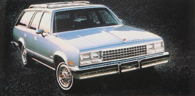 The 1983 Chevrolet Malibu wagon