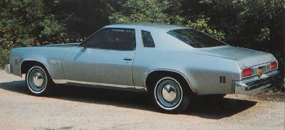 1975 Chevrolet Chevelle Malibu Classic Coupe, rear view