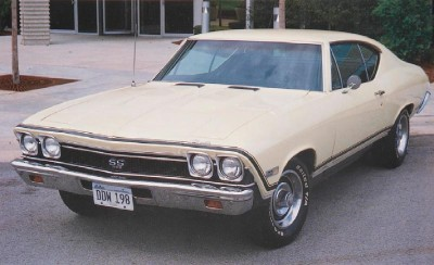 1968 Chevrolet Chevelle SS 396, front view