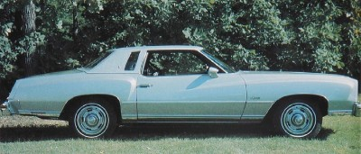 1976 Chevrolet Monte Carlo side