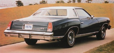 1976 Chevrolet Monte Carlo rear