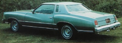1977 Chevrolet Monte Carlo rear