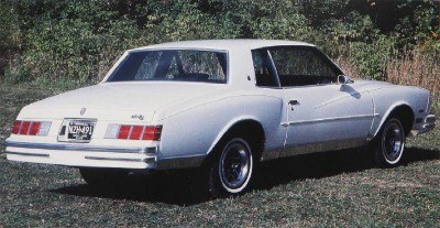 1980 Chevrolet Monte Carlo Sport Coupe rear