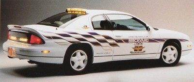 1995 Monte Carlo Brickyard pace car