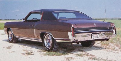 1971 Chevrolet Monte Carlo front