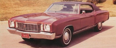 1972 Chevrolet Monte Carlo front