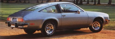 The 1978 Chevrolet Monza 2+2 coupe, part of the 1978 Chevrolet Monza line.