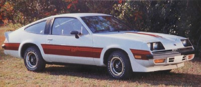 The 1980 Chevrolet Monza, part of the 1980 Chevrolet Monza line.
