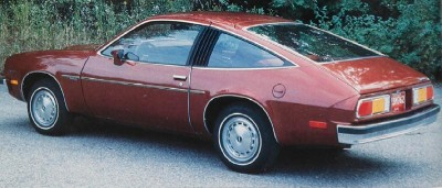 The 1979 Monza 2+2 Sport, part of the 1979 Chevrolet Monza line.