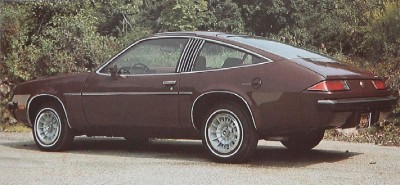 The 1975 Chevrolet Monza 2+2, part of the 1975 Chevrolet Monza line.