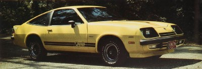 The 1977 Monza Spyder package, part of the 1977 Chevrolet Monza line.