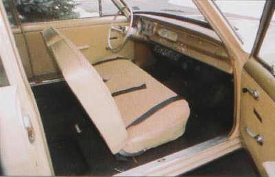 The Chevy II Series 100 2-door Sedan, part of the 1965 Chevrolet Chevy II and Nova line.