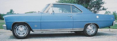 The 1966 Chevy Nova SS Sport Coupe, part of the 1966 Chevrolet Chevy II and Nova line.