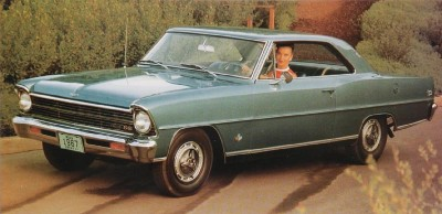 The 1967 Nova SS 2-door Hardtop, part of the 1967 Chevrolet Chevy II and Nova line.