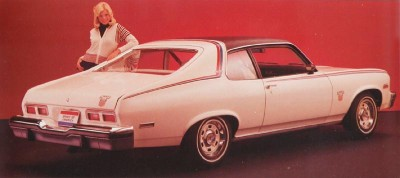 1974 Chevrolet Nova with Spirit of America package, rear view