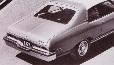 The 1973 Chevrolet Nova Custom Sedan, part of the 1973 Chevrolet Nova line.