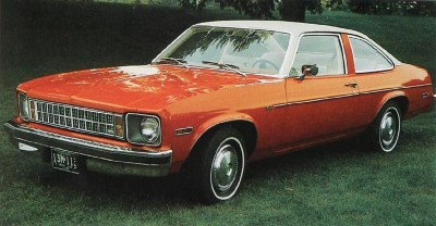 The 1976 Nova SS, part of the 1976 Chevrolet Nova line.