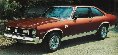 The 1976 Standard Nova SS, part of the 1976 Chevrolet Nova line.