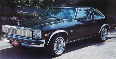 The 1977 Chevrolet Nova Concours, part of the 1977 Chevrolet Nova line.