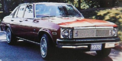 The 1978 Chevrolet Nova Custom Sedan, part of the 1978 Chevrolet Nova line.