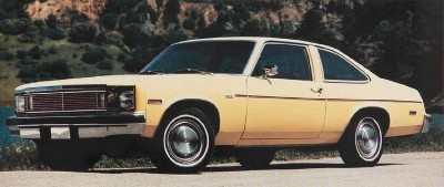 The 1979 Chevrolet Nova Coupe, part of the 1979 Chevrolet Nova line.