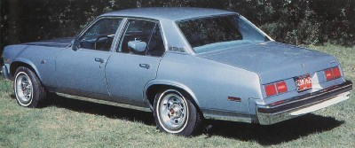 The 1979 Chevrolet Nova Custom 4-door, part of the 1979 Chevrolet Nova line.