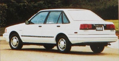 The 1988 Chevrolet Nova Twin-Cam model.