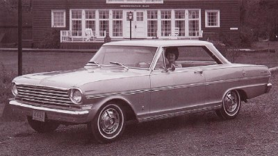 The 1963 Chevy Nova SS Sport Coupe, part of the 1963 Chevrolet Chevy II and Nova line.