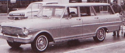 The 1963 Chevy II Nova 400 Station Wagon, part of the 1963 Chevrolet Chevy II and Nova line.