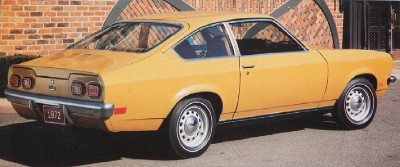 1972 Chevrolet Vega rear view