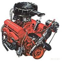 the turbo-fire v-8 was bored out to 283 cid for 1957,