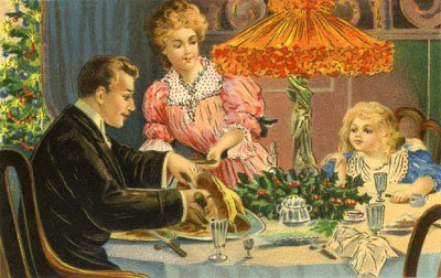 Expand your Christmas traditions trivia knowledge: the typical English Christmas feast features turkey and stuffing.