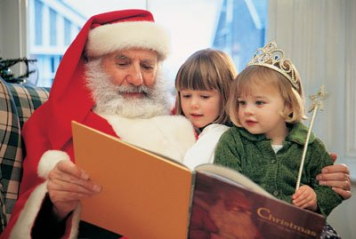 Here's a bit of Santa trivia: One of Santa's favorite reads is How the Grinch Stole Christmas, by Dr. Seuss.