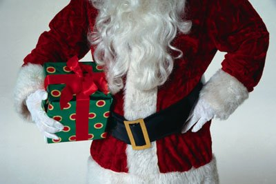 Increase your Santa trivia knowledge with this fact: The Santa of Italy is La Befana, a kindly old witch.