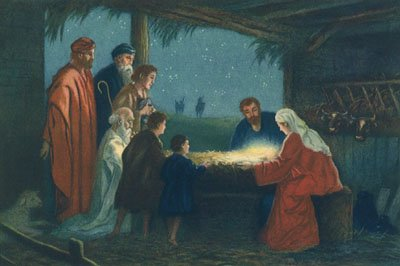Enhance your Christmas trivia knowledge: Jesus was born in a stable and laid in a manger.