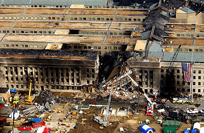 The Pentagon, post-attack