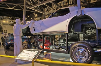 Visitors to the museum will gain a better understanding of how Corvettes are built.