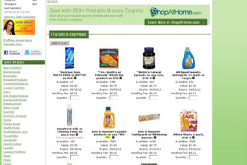 Use Coupons and Save