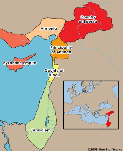 Politics in the Crusades - Crusades | HowStuffWorks on jerusalem home, jerusalem compass, jerusalem marathon, jerusalem before crusades, jerusalem atlas,