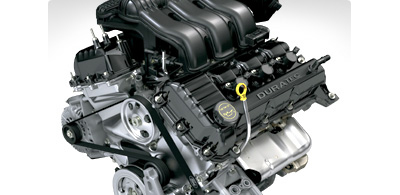 Ford Freestyle Duratec engine with CVT
